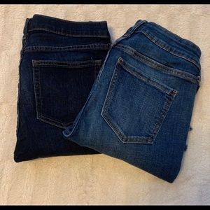 Gap and old navy jeans